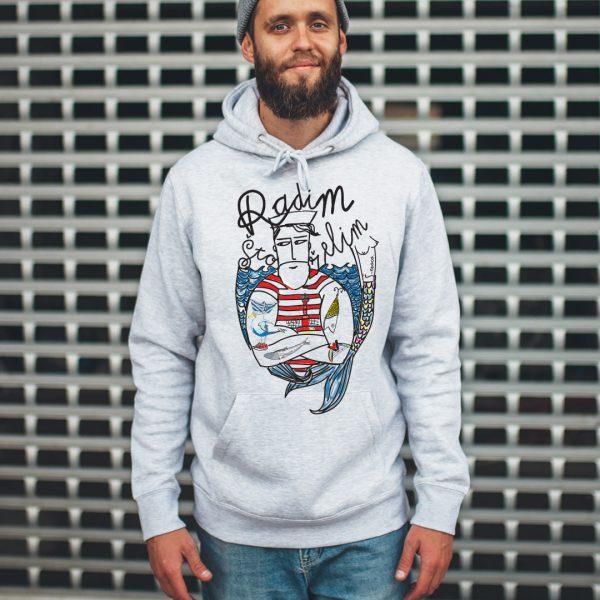 unisex-hoodie-gray-radim-sto-zelim