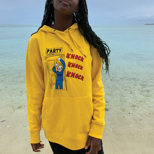 unisex-hoodie-yellow-konac-party-time